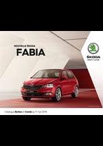 Promos et remises  : Skoda Fabia