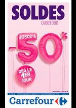 Prospectus Carrefour : Soldes 2019 jusqu'à -50% d'économies