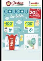 Prospectus Supermarchés Casino : Coucou les bébés