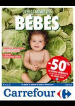 Prospectus Carrefour : C'est la saison des BEBES