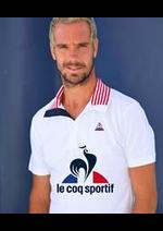 Prospectus Le Coq Sportif : Polos Hommes