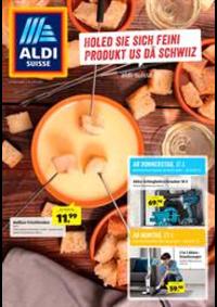 Prospectus Aldi : Holed sie sich feini Produkt us dä Schwiiz