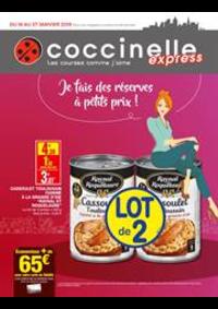 Prospectus Coccinelle Express EPINAY SUR SEINE : Je fais de réserves à petits prix!