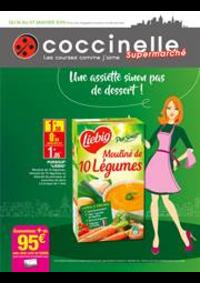 Prospectus Coccinelle Supermarché Drancy : Une assiette sinon pas de dessert!