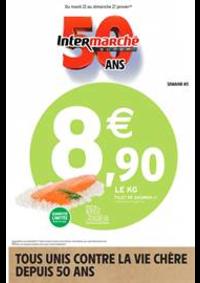 Prospectus Intermarché Super Rugles : TOUS UNIS CONTRE LA VIE CHÈRE DEPUIS 50 ANS