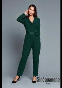 Prospectus Sinequanone CERGY : Indispensables Robes