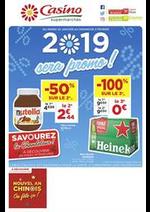 Prospectus Supermarchés Casino : 2019 sera promo !