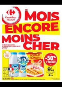 Prospectus Carrefour Market THONON LES BAINS  : Le mois encore moins cher 4