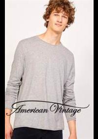 Prospectus American Vintage Courbevoie : Collection Homme