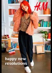 Prospectus H&M Arcueil : H&M Happy new resolutions