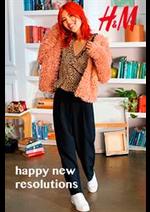 Promos et remises  : H&M Happy new resolutions