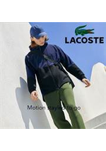 Promos et remises  : Lacoste Motion Men