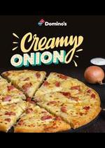 Prospectus Domino's pizza : La carte Domino's Pizza