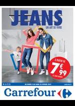 Prospectus Carrefour : Jeans -  un Art de Vivre