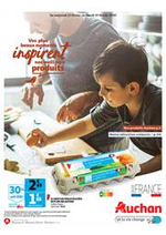 Prospectus Auchan : Vos plus beaux moments inspirent nos meilleurs produits