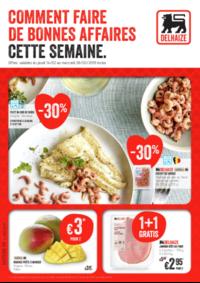 Prospectus Supermarché Delhaize Bouge : Decouvrez les promotions de la semaine