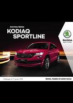 Promos et remises  : Skoda Kodiaq Sporline