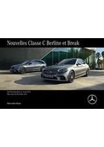 Prospectus Mercedes Benz : Mercedes-Benz Classe C Berline et Break