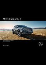 Prospectus Mercedes Benz : Mercedes-Benz GLA