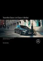 Promos et remises  : Mercedes-Benz Classe A et Classe A Berline
