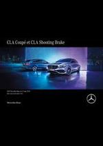 Prospectus Mercedes Benz : Mercedes-Benz CLA Coupé et CLA Shooting Brake