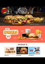 Prospectus  : Menus Burger King
