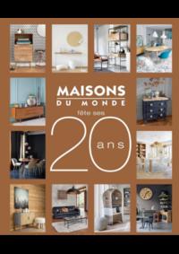 Catalogues et collections Maisons du Monde Bruxelles : Catalogue Maisons du Monde