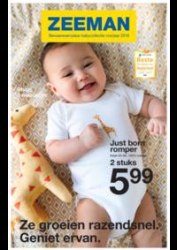 Prospectus Zeeman Andenne  : Bewaarexemplaar babycollectie