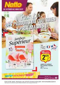 Prospectus Netto Givet Chemin de mon bijou : Pour vous, des produits du quotidien à prix malins!