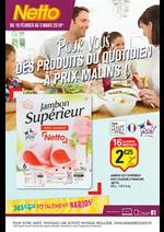 Prospectus Netto : Pour vous, des produits du quotidien à prix malins!
