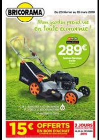 Prospectus Bricorama COLOMBES : Mon jardin prend vie en toute économie!