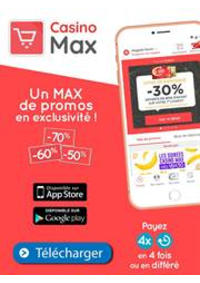 Prospectus Supermarchés Casino DEUIL LA BARRE : Un Max de promos en exclusivité!