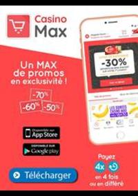 Prospectus Supermarchés Casino ANDRESY : Un Max de promos en exclusivité!