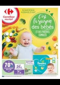 Prospectus Carrefour Market BOURGES 114 AVENUE DE DUN SUR AURON : PUÉRICULTURE