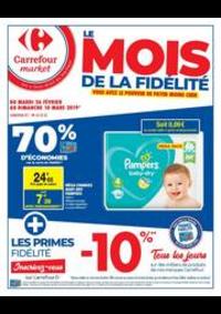Prospectus Carrefour Market PARIS 102-104 AVENUE GENERAL LECLERC : Le mois de la fidélité 3