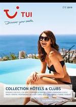 Promos et remises  : Collection Hôtels & Clubs Été 2019