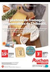 Prospectus Auchan Drive VELIZY : Le plateau de fromage responsable de Thibault