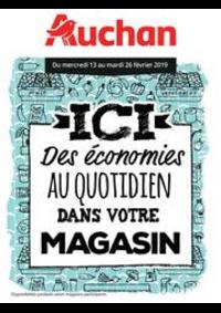 Prospectus Auchan Drive VELIZY : Des économies au quotidien