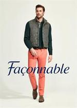 Prospectus Façonnable : Pantalons & Jeans
