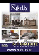 Prospectus Meubles Nikelly : 5 + 1 gratuite !