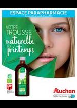Prospectus Auchan : Votre trousse naturelle du printemps