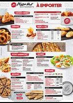 Prospectus Pizza hut : Pizza Hut - À emporter