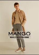Prospectus MANGO : Nouvelle Collection / Homme