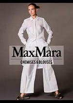 Prospectus Max Mara : Collection Chemises & Blouses