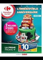 Prospectus Carrefour Market : L'irrésistible anniversaire