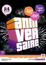 Prospectus M6 Boutique : Anniversaire