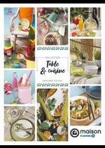 Promos et remises  : Table et cuisine