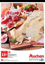 Prospectus Auchan : Italie, Espagne, Portugal