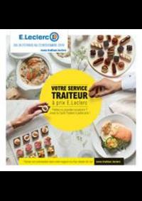 Prospectus E.Leclerc CLICHY : Carte traiteur permanente-dessert