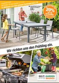 Prospectus Do it + Garden Bern - Marktgasse Fachmarkt : Wir richten uns den Frühling ein.